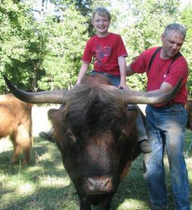 Green Family Ranch Mike and son